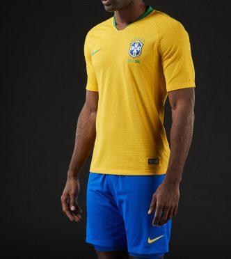 La nuova maglia del Brasile 2018 home