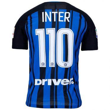 Retro prima maglia Inter celebrativa 110 anni