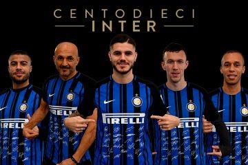 Presentazione maglia Inter 110 anni
