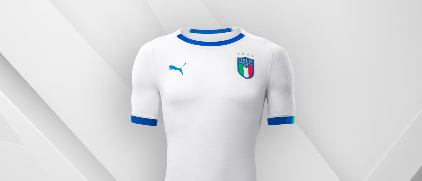 Nuova maglia Italia away 2018 Puma