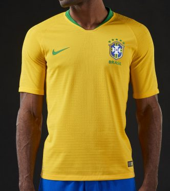 Maglia Brasile mondiali 2018