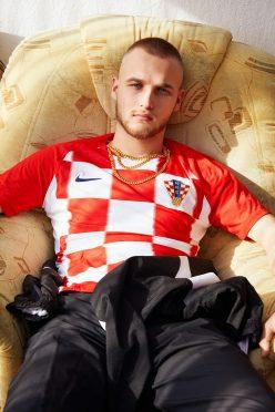 La maglia della Croazia ai Mondiali 2018