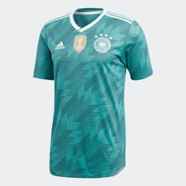 Seconda maglia Germania verde Mondiali 2018