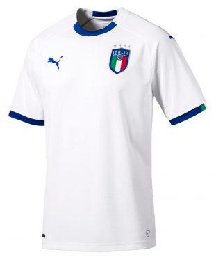 Maglia Italia trasferta 2018-2020 bianca
