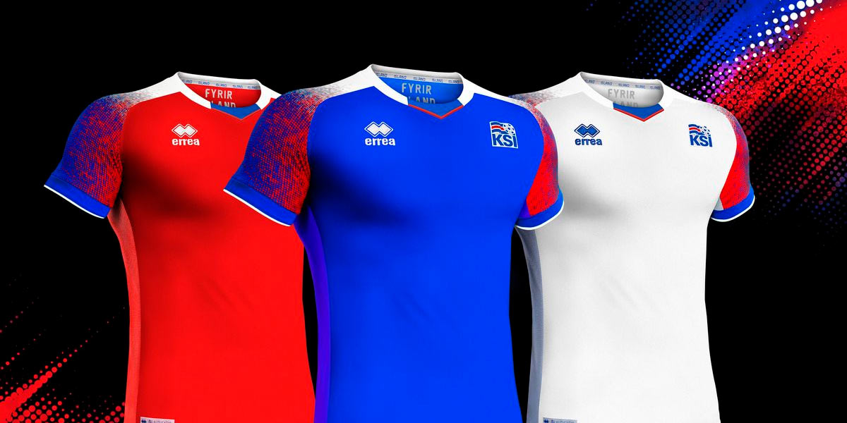 Maglie Islanda Mondiali 2018 Erreà