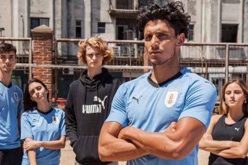 Maglie Uruguay mondiali 2018 Puma