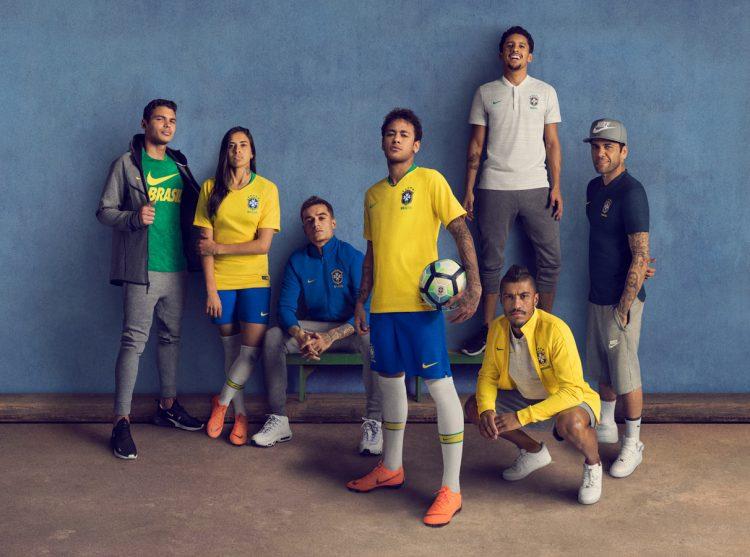 Presentazione maglie Brasile mondiali 2018 Nike