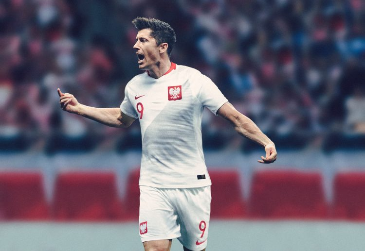 Polonia kit home mondiali 2018