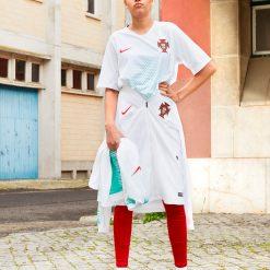 Collezione Portogallo away Nike 2018