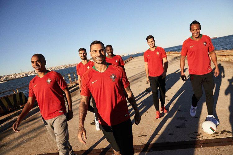 La nuova maglia del Portogallo per i Mondiali 2018