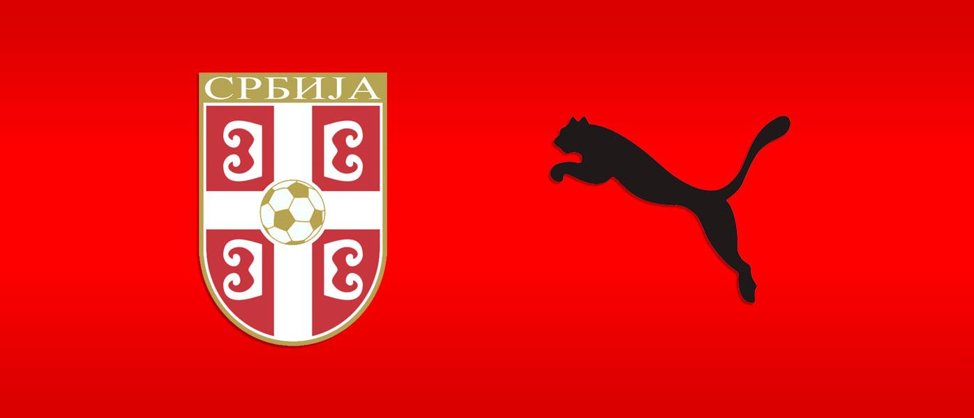 Puma sponsor tecnico Serbia 2018