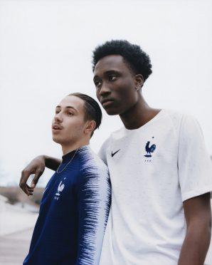 La divisa away della Francia 2018