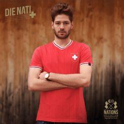 Maglia Svizzera vintage Retrofootball