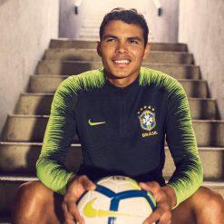 Thiago Silva, giacca Brasile Nike