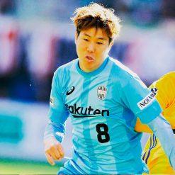 Vissel Kobe seconda maglia celeste 2018