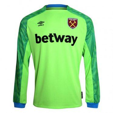 Maglia portiere West Ham away 2018-2019 verde