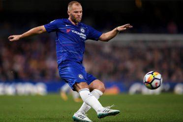 Gudjohnsen con la nuova divisa del Chelsea