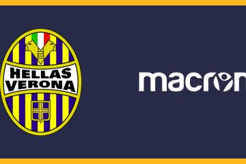 Macron sponsor tecnico Hellas Verona