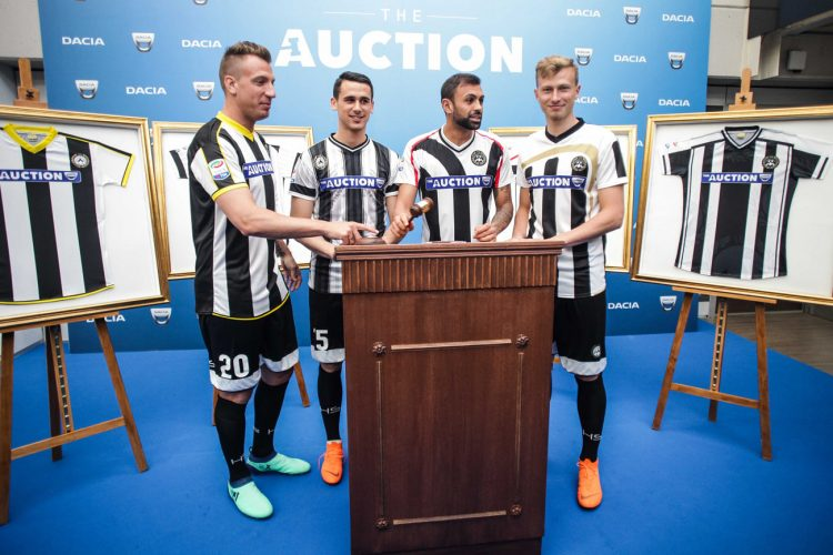 Udinese, The Auction Dacia
