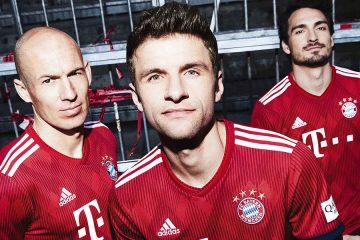 Nuova maglia Bayern Monaco 2018-2019