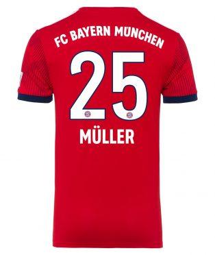 Maglia Muller 25 Bayern Monaco