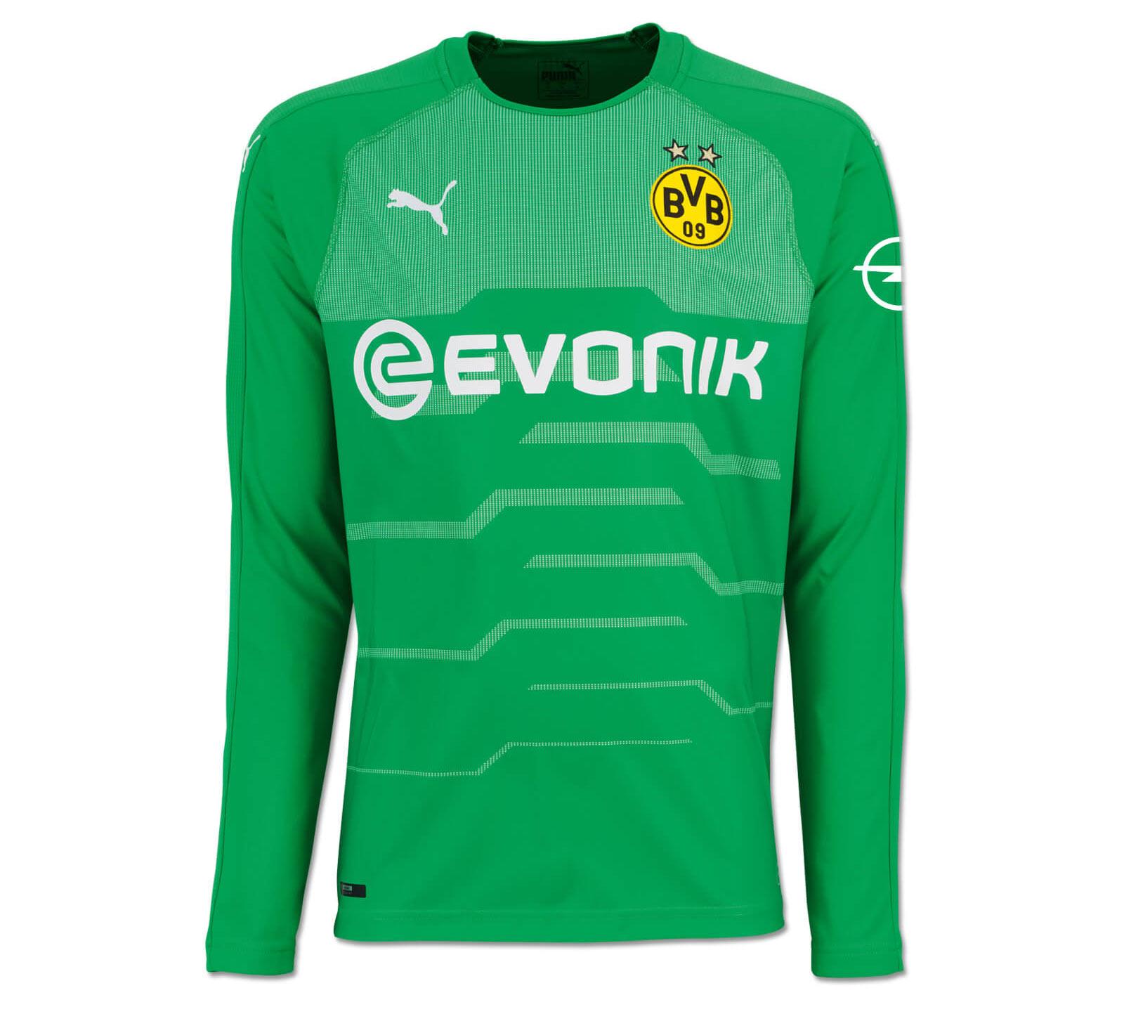 Maglia Borussia Dortmund 2018-2019, la grafica a impulso di Puma