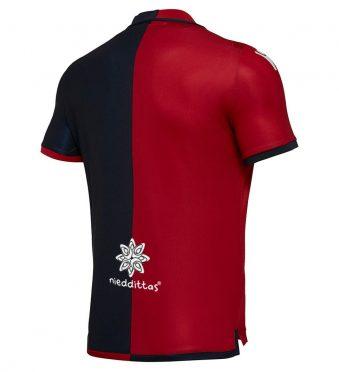 Retro prima maglia Cagliari 2018-2019