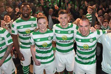Presentazione maglia Celtic 2018-2019 Glasgow