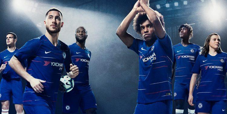 Chelsea divisa 2018-2019 Nike