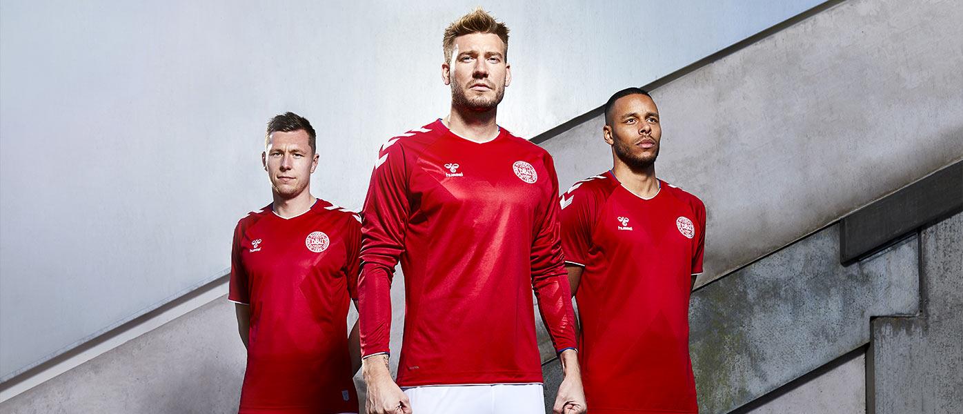 La nuova maglia della Danimarca ai Mondiali 2018