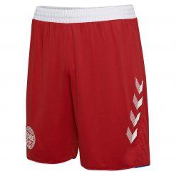 Pantaloncini Danimarca away rossi