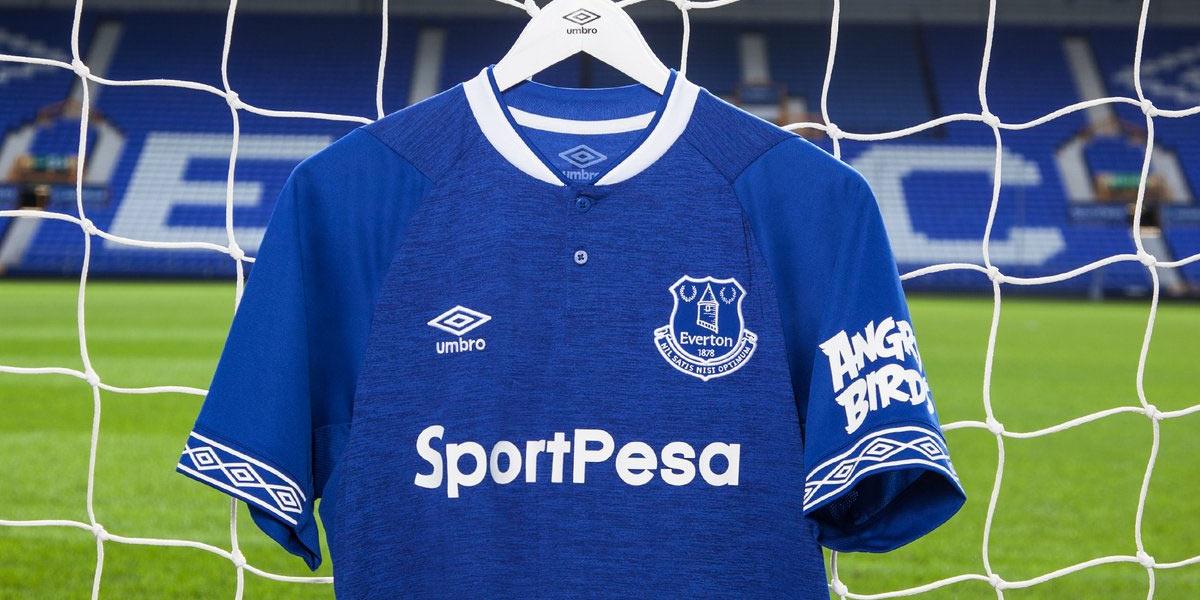 Nuova maglia Everton 2018-2019 Umbro