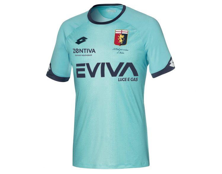 Maglia portiere Genoa verde acqua 2018-2019