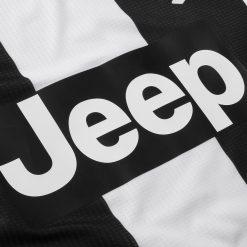 Sponsor Jeep Juventus con toppa nera