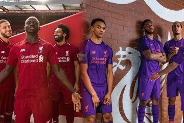 Liverpool kit 2018-2019