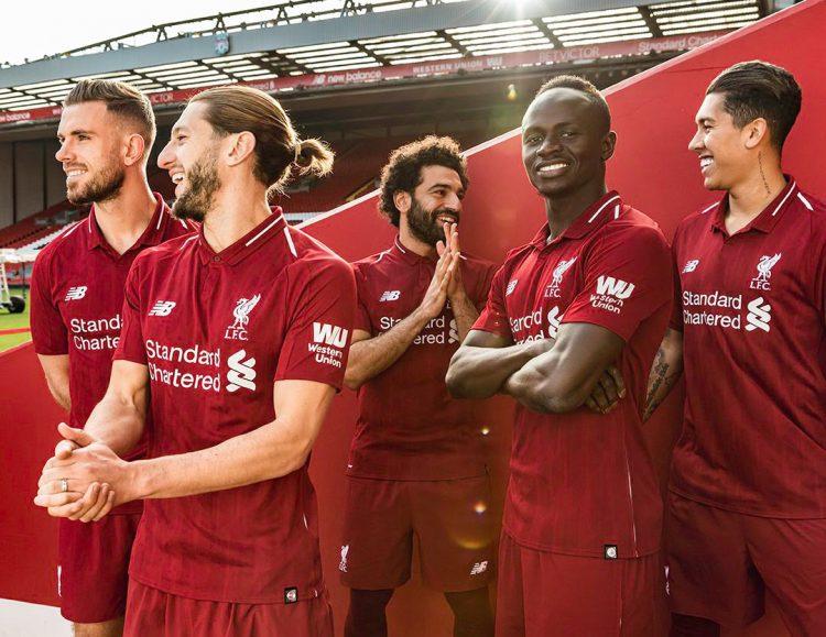 Divisa Liverpool 2018-2019 New Balance