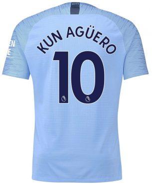 Maglia Manchester City Aguero 10 - 2018-19