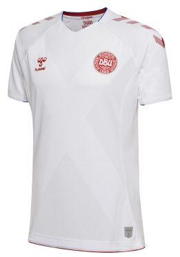 Seconda maglia Danimarca mondiali 2018 bianca
