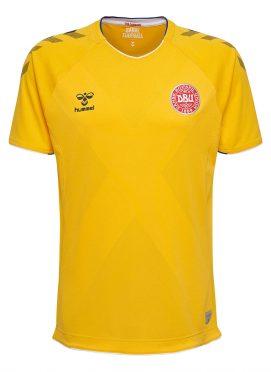 Terza divisa portiere Danimarca gialla Mondiali 2018