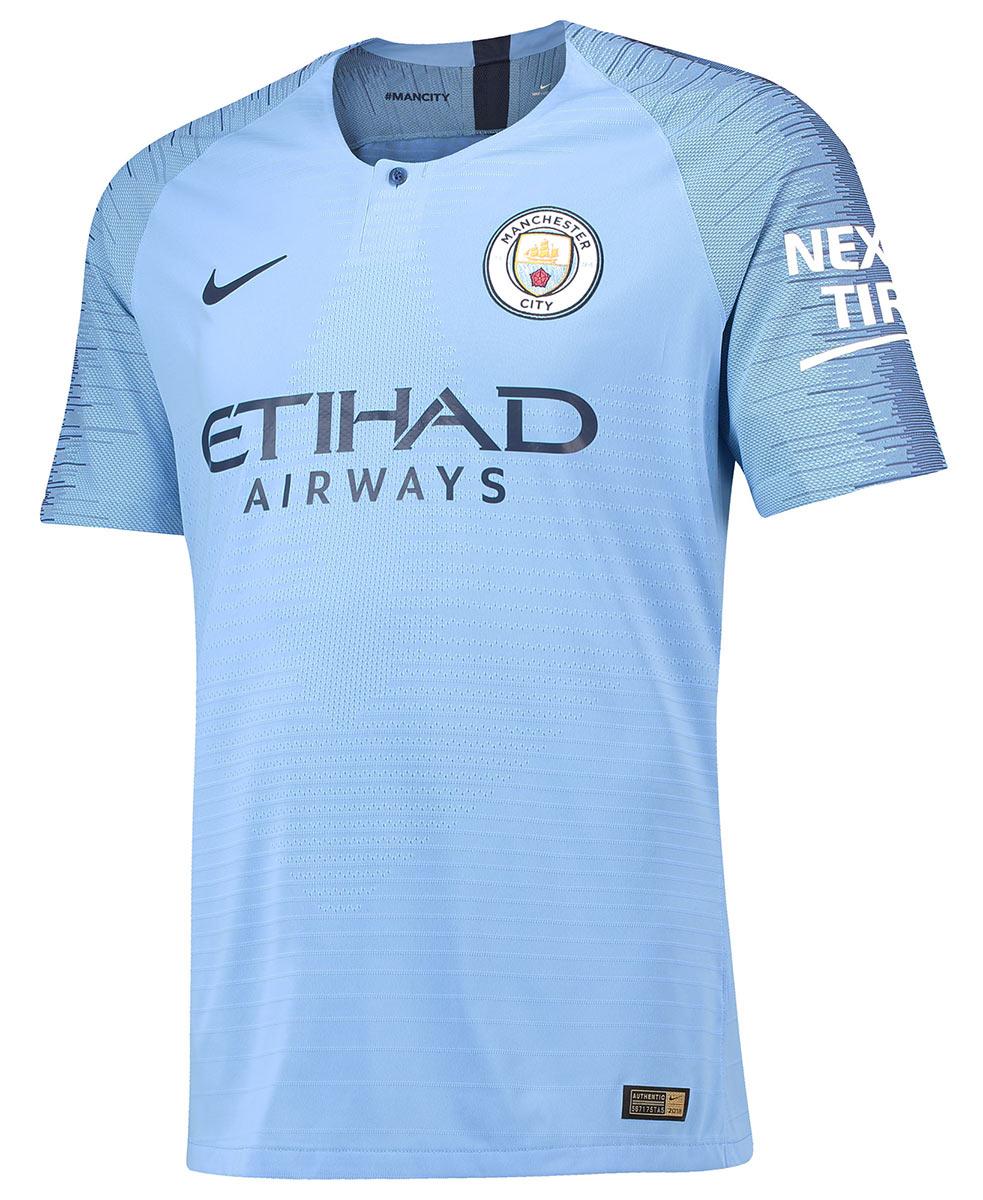Maglia Manchester City 2018-2019, Nike omaggia la storia Citizens