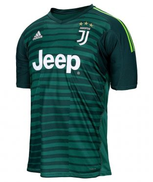 Maglia portiere Juventus verde 2018-2019