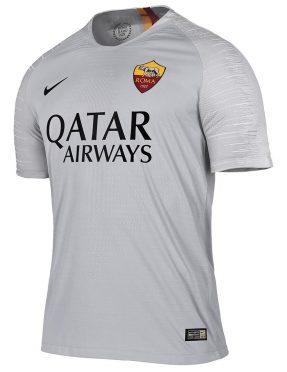 Seconda maglia Roma 2018-2019 grigia