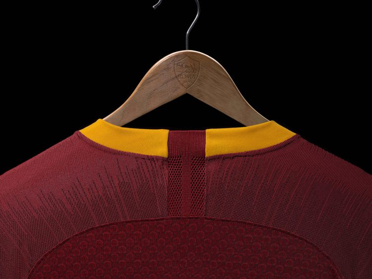 Retro colletto maglia AS Roma