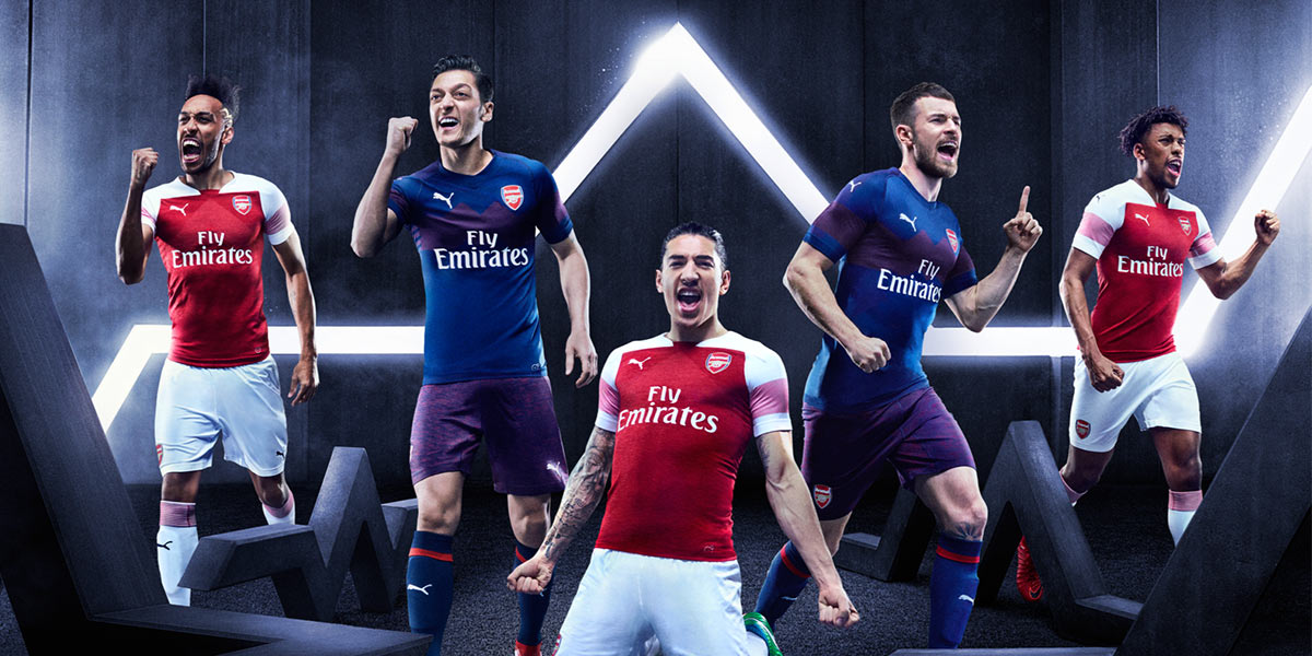 Maglie Arsenal Puma 2018-2019