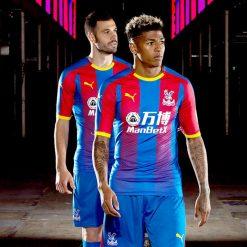La nuova divisa del Crystal Palace 2018-19