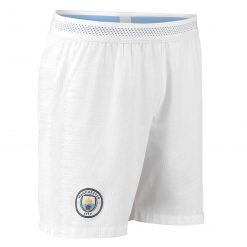 Pantaloncini Manchester City bianchi Vapor 2018-19
