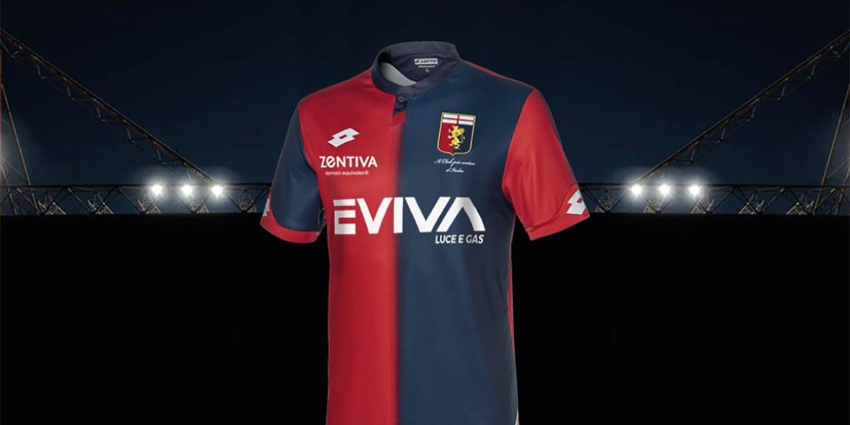 Presentazione nuova maglia Genoa 2018-2019