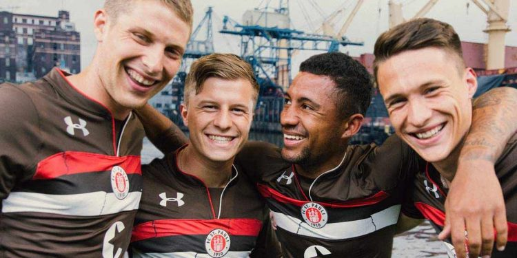 Presentazione nuova maglia St. Pauli 2018-2019