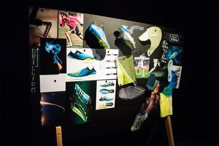 Progettazione adidas X 18+