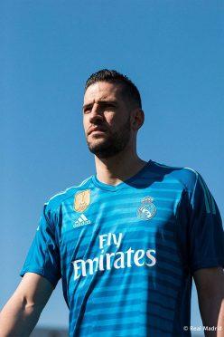 Seconda maglia portiere Real Madrid azzurra